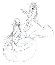Leechgirls by Lichelet