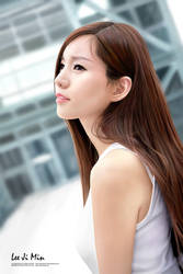 Portrait Drawing: Lee Ji Min by lyzeravern