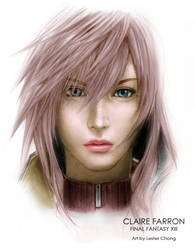 Final Fantasy XIII: Claire Farron by lyzeravern