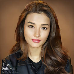 Portrait Drawing: Liza Soberano by lyzeravern