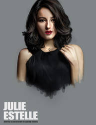 Portrait Drawing II: Julie Estelle