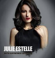 Portrait Drawing II: Julie Estelle