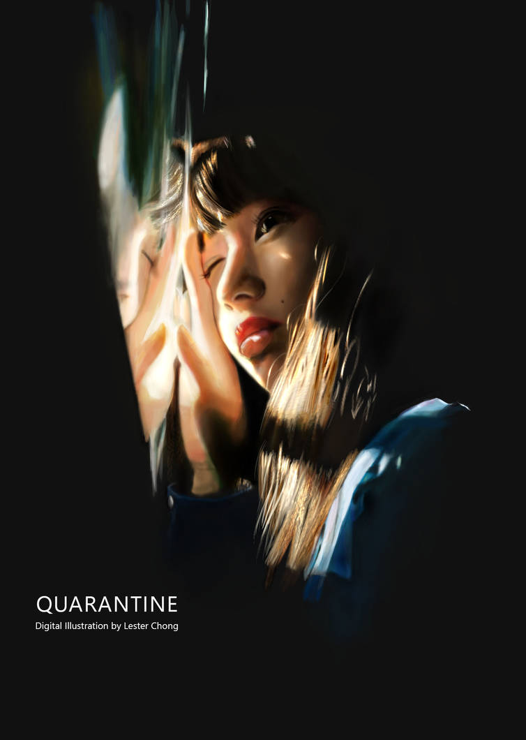 Portrait Drawing: QUARANTINE