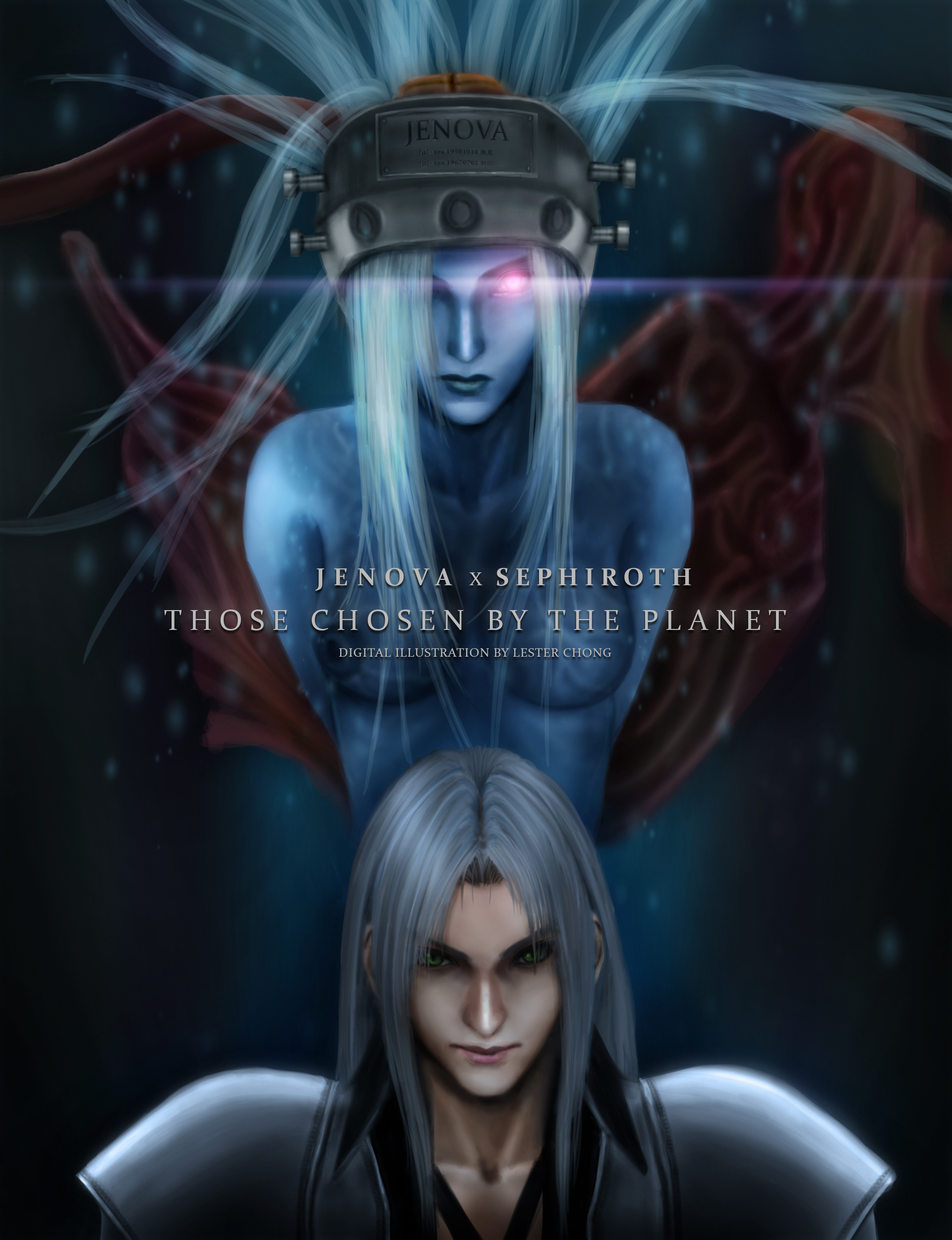 Final Fantasy Vii Remake Jenova X Sephiroth By Lyzeravern On Deviantart
