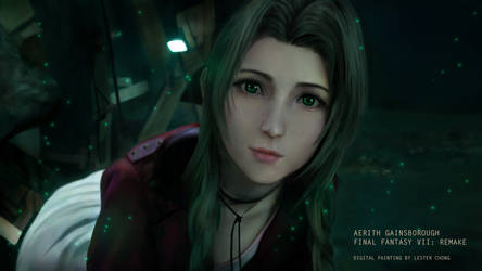 Final Fantasy VII Remake - Aerith Gainsborough