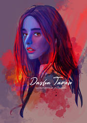 Portrait Painting: Dasha Taran 01