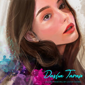 Portrait Painting: Dasha Taran 04