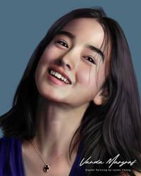 Portrait Painting: Vanda Margraf