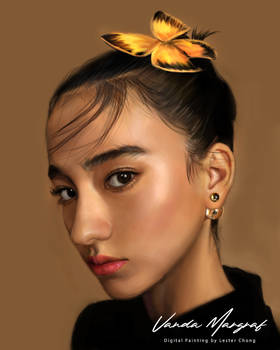 Portrait Painting 2: Vanda Margraf