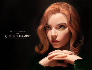 Portrait Painting: The Queen's Gambit