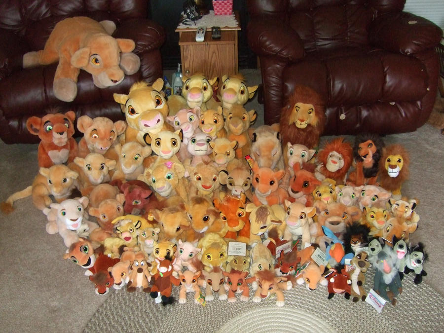 My Lion King Plush Update by Itachislilgirl
