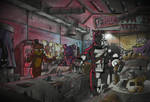 Fallout at Freddys
