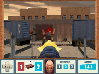 Team Fortress 2: DOS demake by gilamasan