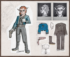 Eerth: Camera Face Redesign Reference Sheet