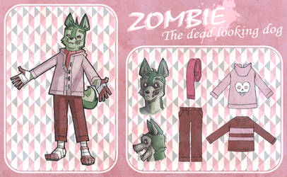 OC reference: Zombie by gilamasan