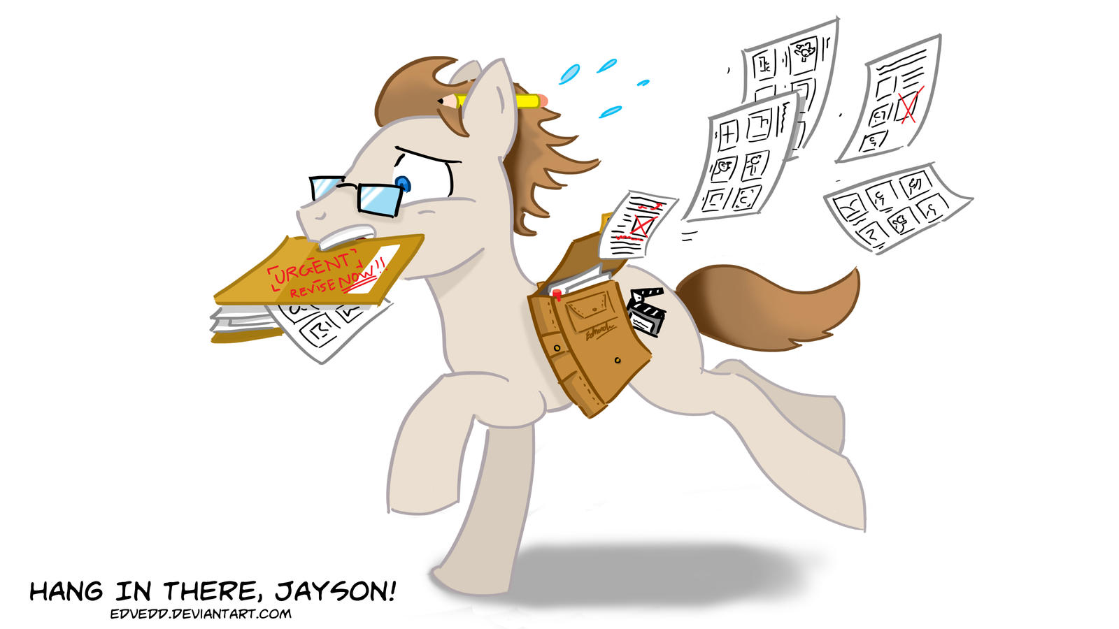 mlpsm jayson thiessen by edvedd on deviantart