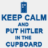 Putting Hitler in the Cupboard by moonymistress