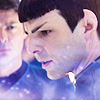 Spock and Bones by moonymistress