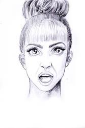Suprised GaGa by JennaTheLilMonster