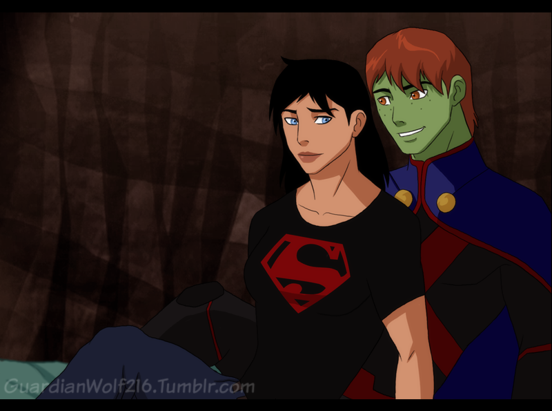 Young Justice Logo Young Justice Genderbend