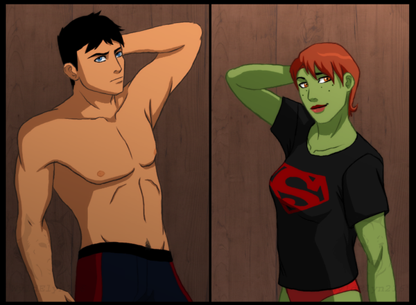 Young Justice - Morning After by SabraeTrash on DeviantArt