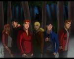 YJI/Teen Wolf AU - The Beacon Hills Pack