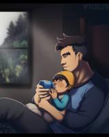 Dream Daddy - Quiet Evening by SabraeTrash