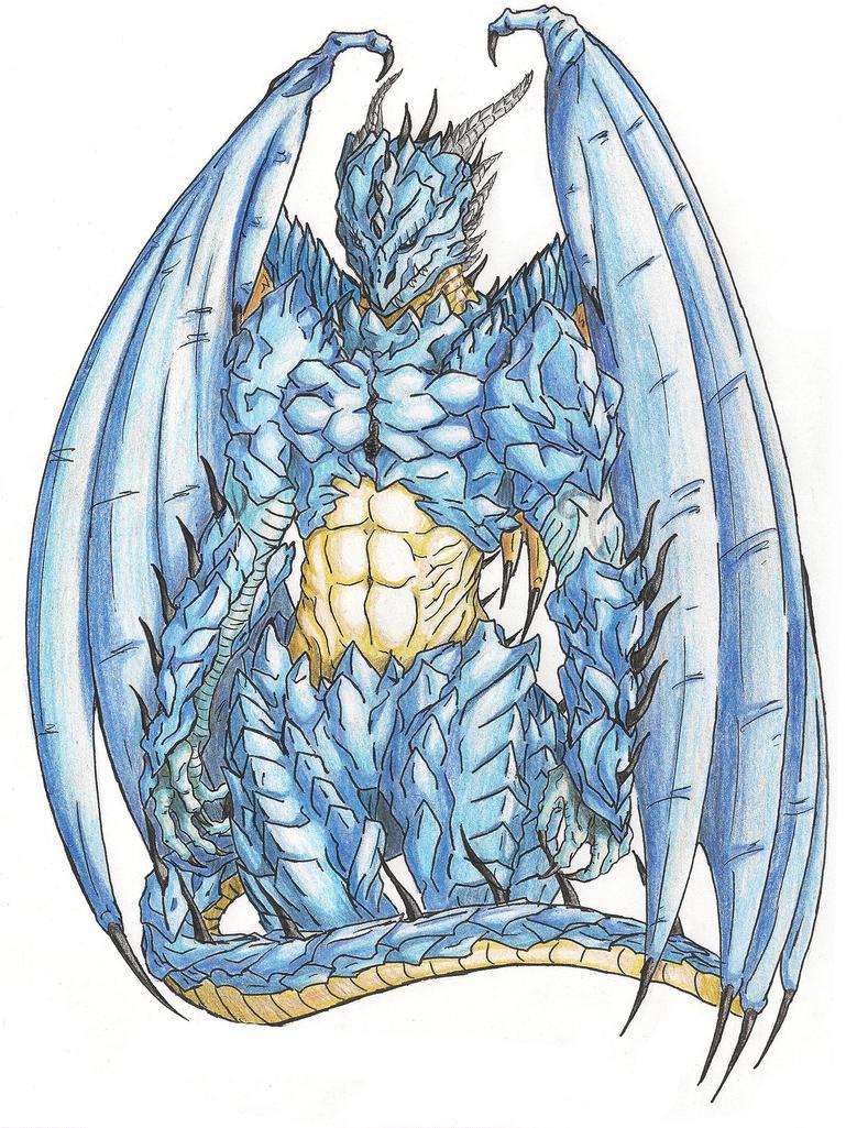 Galería de Fan Arts - Página 3 Leviathan_thareon_semidragon_deisgn_01_by_soldream-d9z17j6