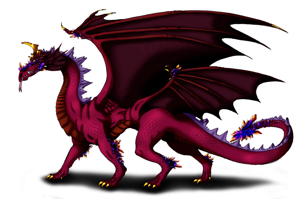 Ametrine Dragon