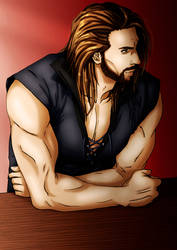 Leon at the bar