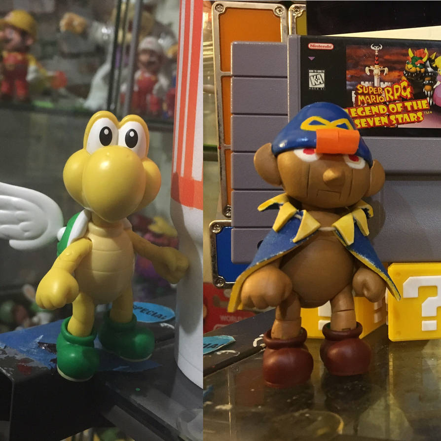 Super mario rpg character builds