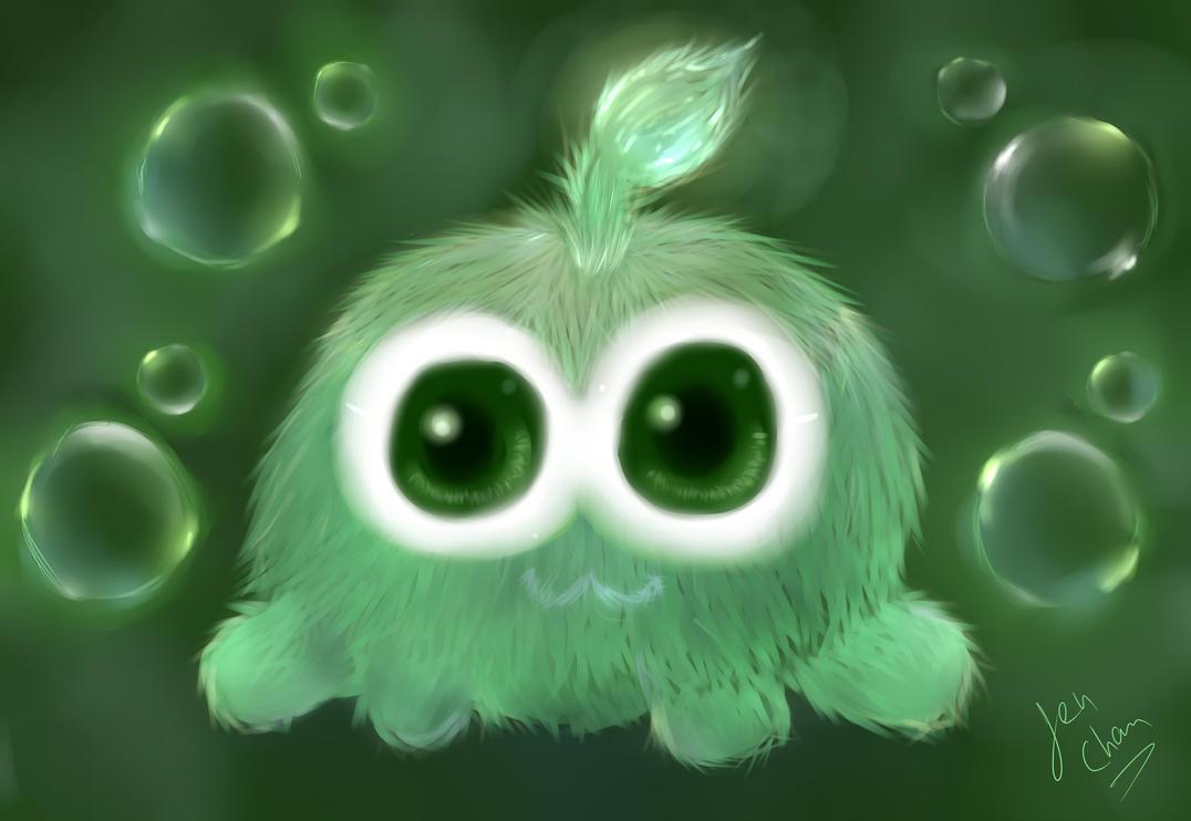 Cute Alien Plush *----------------* by Jen-Chan93