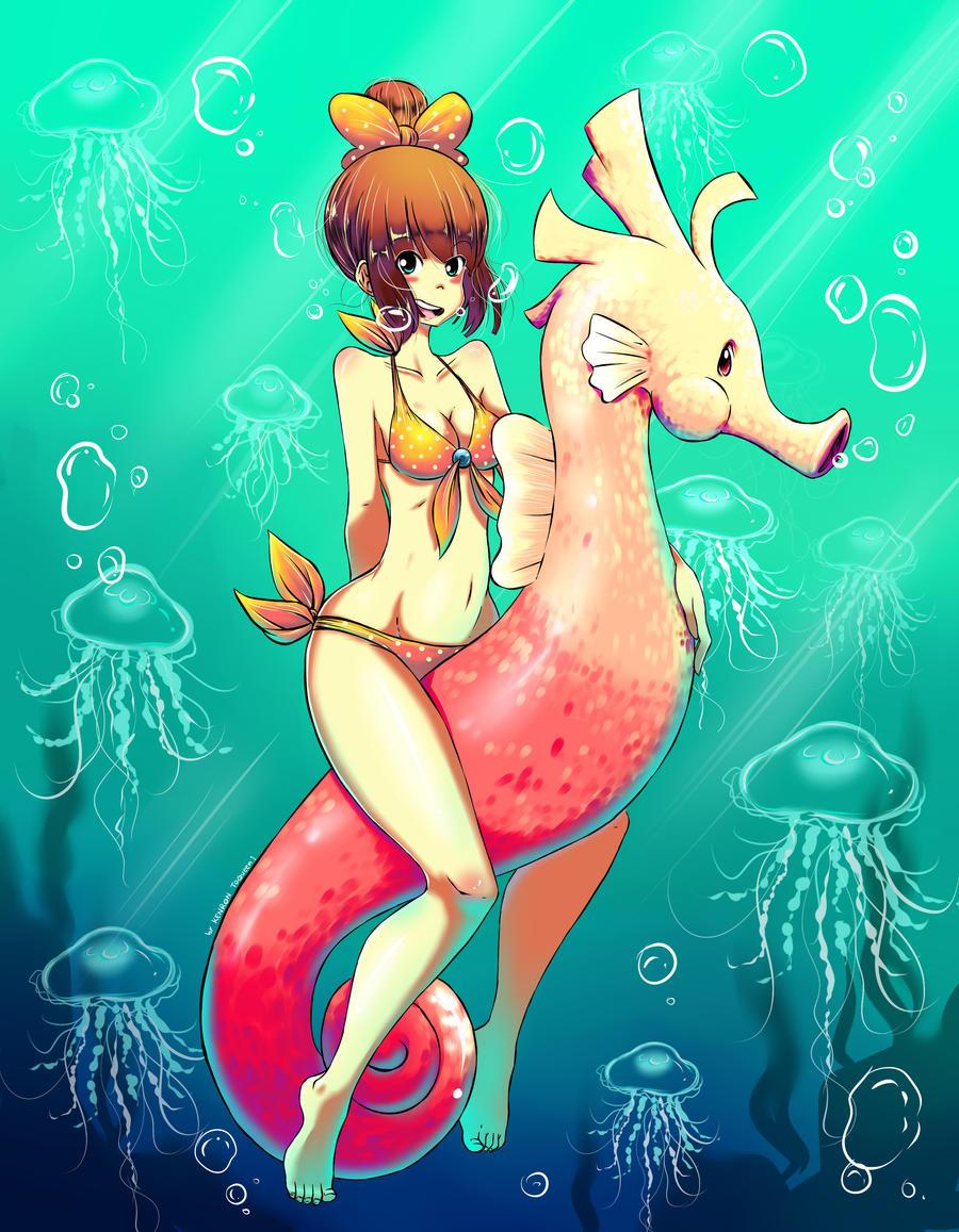 Aqua Hump! by KenronToqueen
