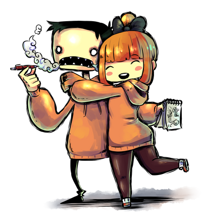 Me and Tomatita by KenronToqueen