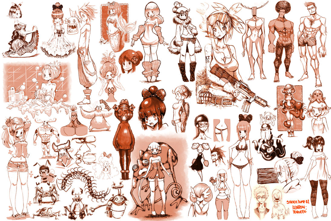Sketchworld Toqueen 02 by KenronToqueen