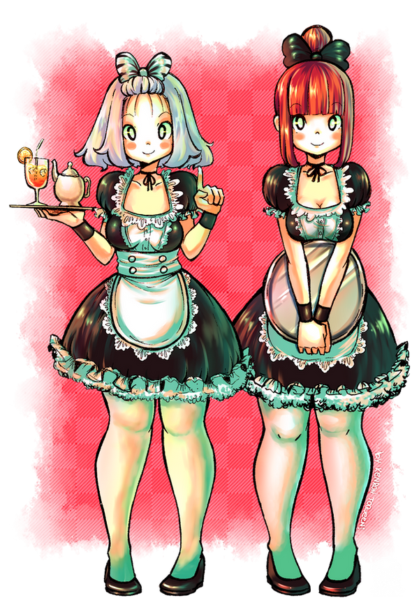 My MAIDS Color by KenronToqueen