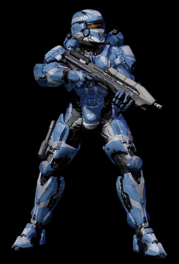Halo 4 MJOLNIR GEN2 POWERED ASSAULT ARMOR by KingFicus on