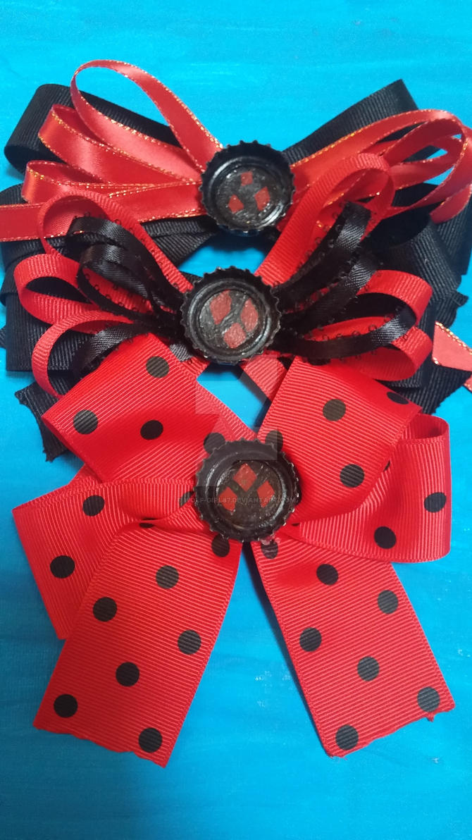 Harley Quinn Accessories by wolf-girl87