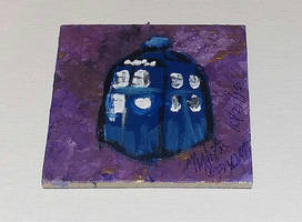 Magnets: Tardis 01 by wolf-girl87
