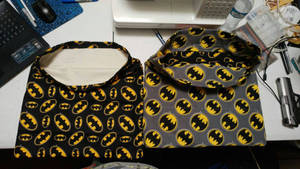 Knapsack: Batman 01 and 02 by wolf-girl87