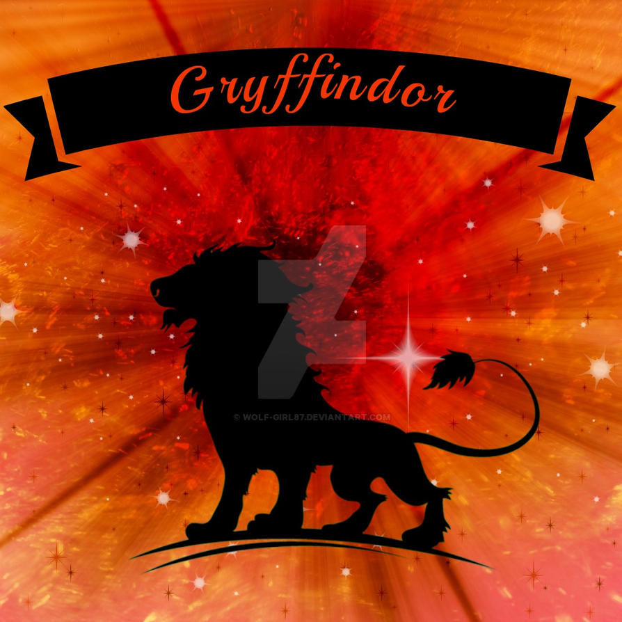 Fabric Design: Gryffindor by wolf-girl87