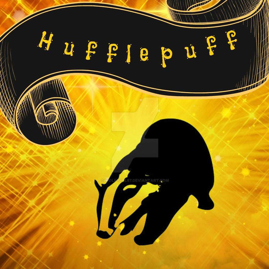 Fabric Design: Hufflepuff by wolf-girl87