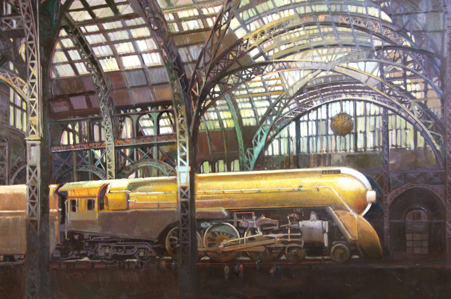 Steam Power by francis-livingston