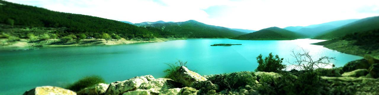 Lake Panorama by FarukAytekin