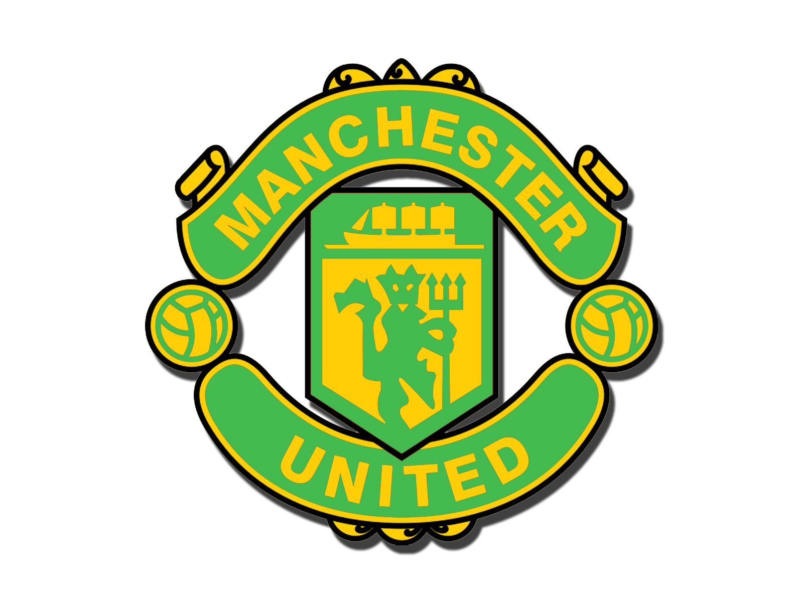 green and gold logo 1 by wulm on deviantart man utd logo 512x512 man utd logo history