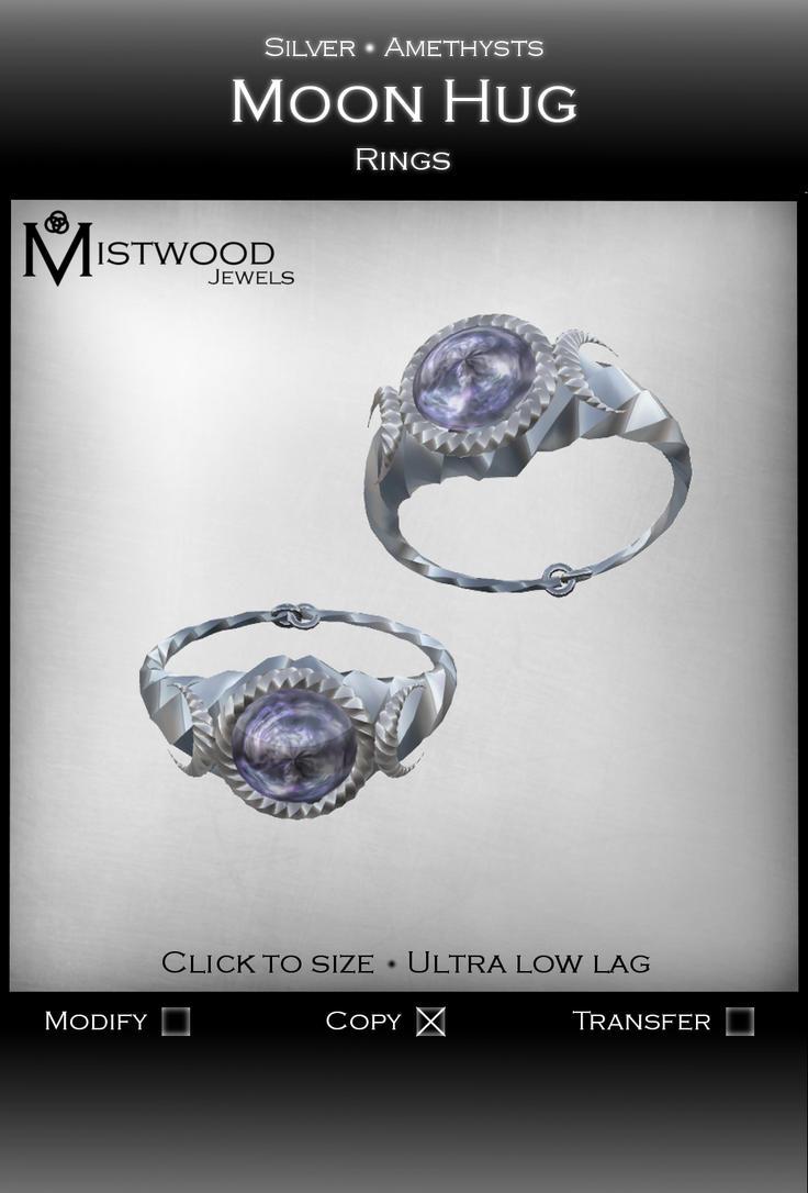 Moon Hug - Rings by Aedil