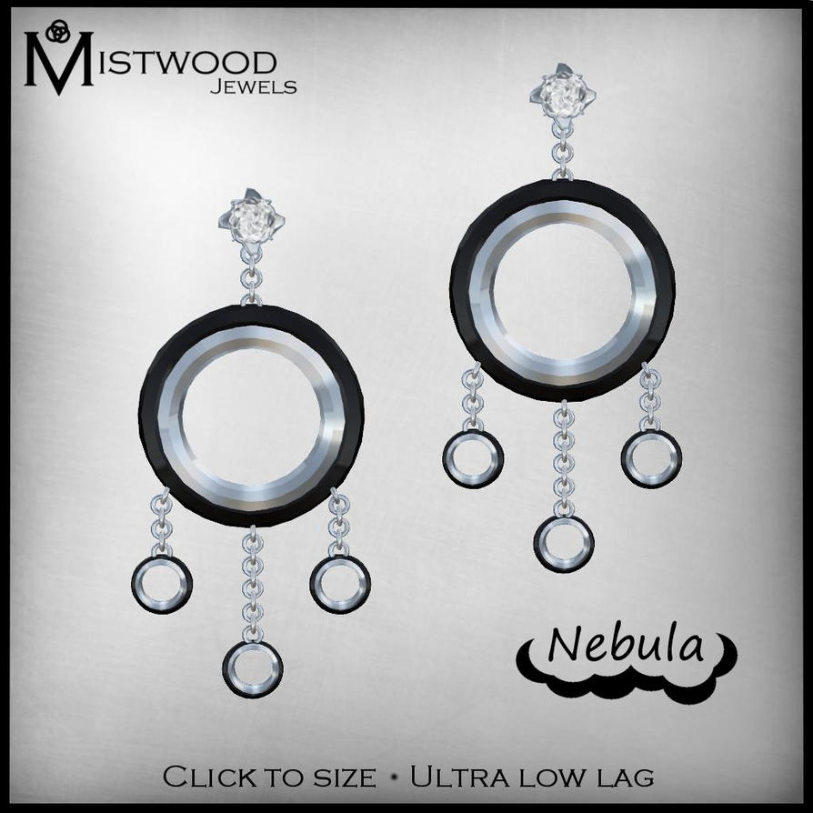 Nebula Earrings by Aedil
