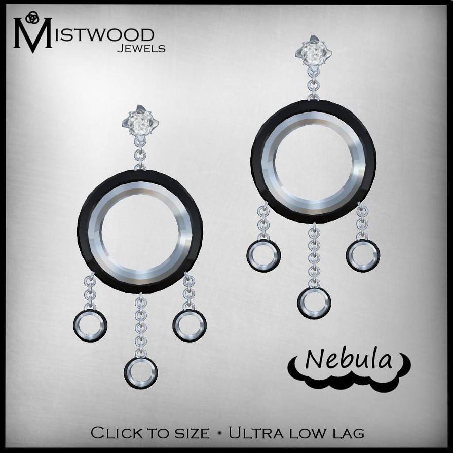 Nebula Earrings by Aedil
