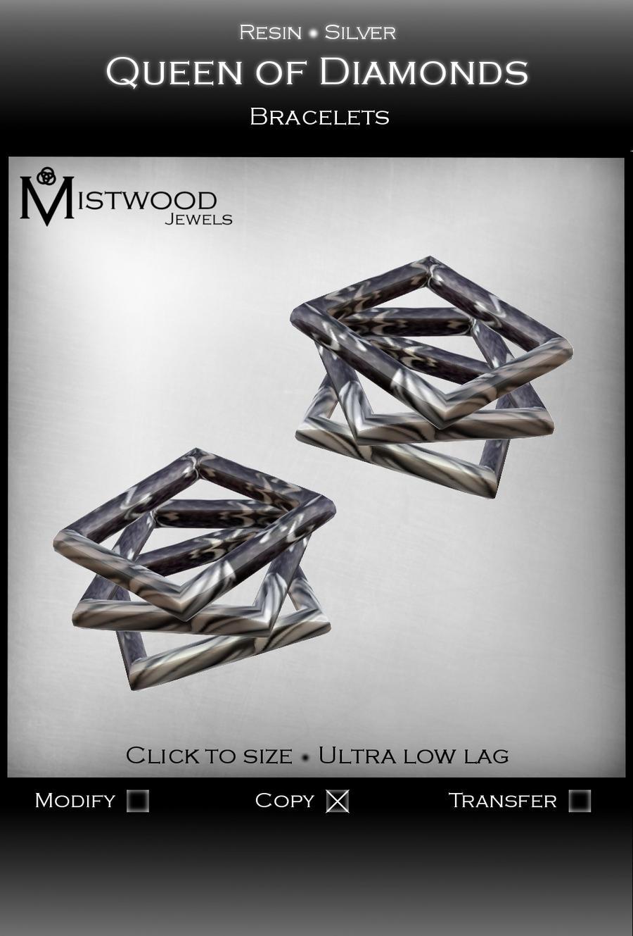 Queen of Diamonds - Bracelets by Aedil