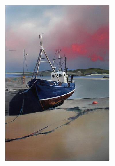 Arran Mor Pier by Adybopeep